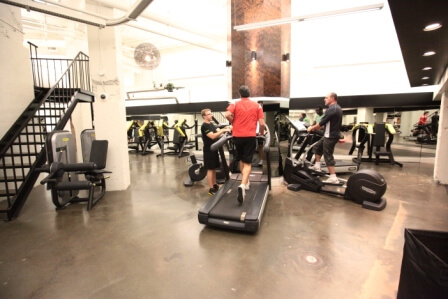 Kalev Fitness gym interior